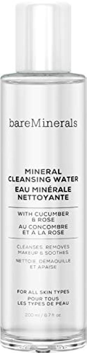 共産主義拷問楽しいベアミネラル Mineral Cleansing Water with Cucumber & Rose 200ml/6.7oz並行輸入品