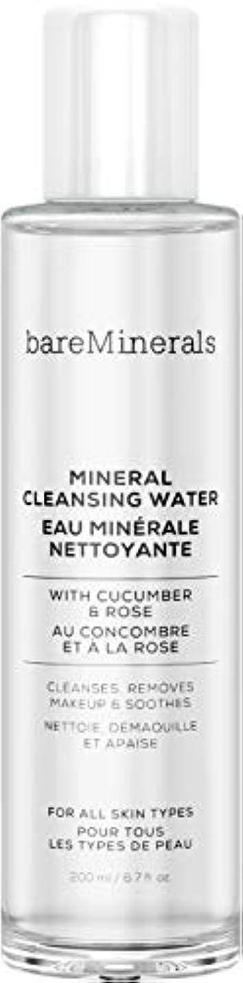 属性ディスパッチお金ベアミネラル Mineral Cleansing Water with Cucumber & Rose 200ml/6.7oz並行輸入品