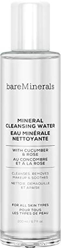 ジャンピングジャック避難する恒久的ベアミネラル Mineral Cleansing Water with Cucumber & Rose 200ml/6.7oz並行輸入品