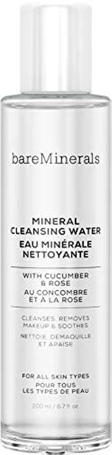 ティーンエイジャー休み第四ベアミネラル Mineral Cleansing Water with Cucumber & Rose 200ml/6.7oz並行輸入品