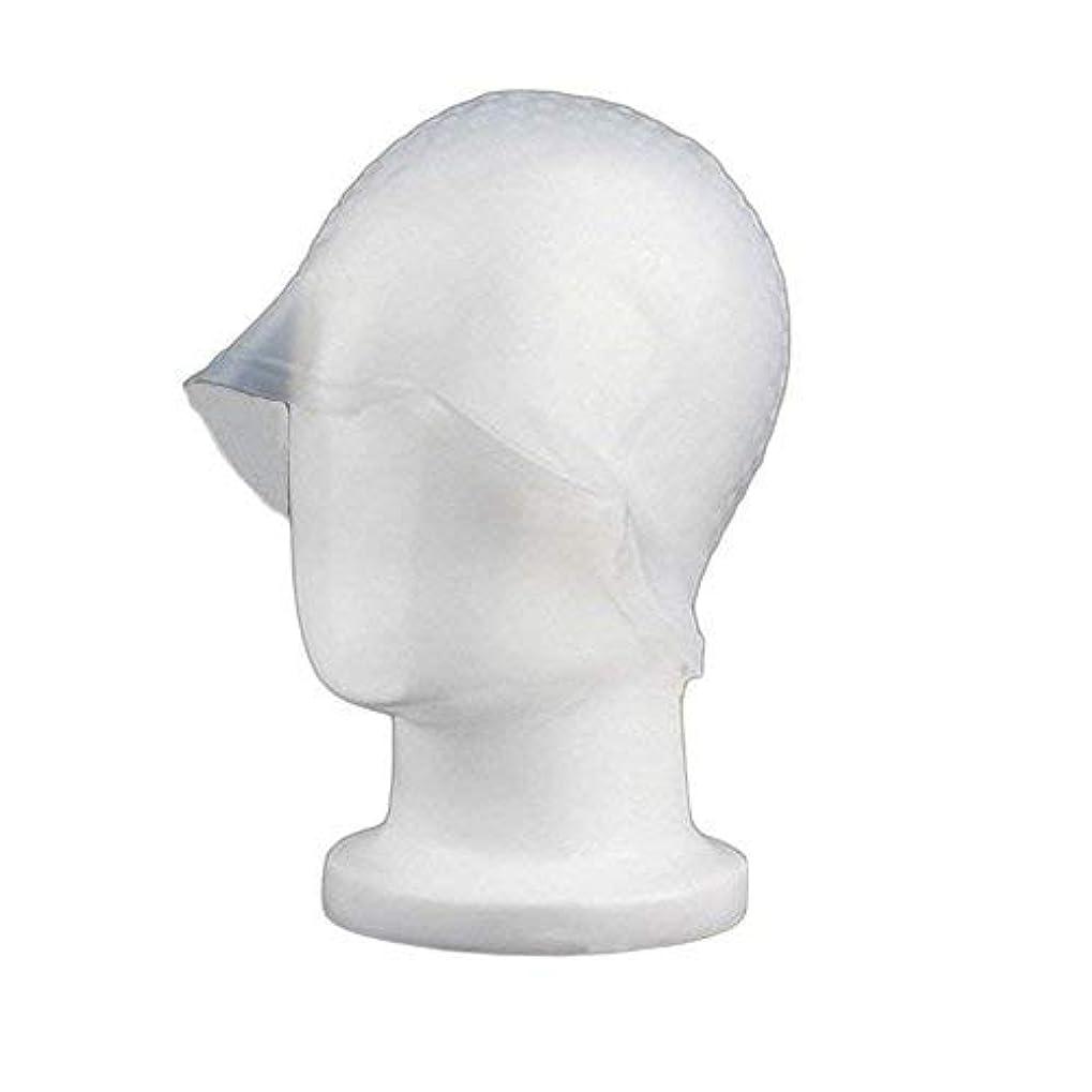 恵み平らにするオリエンタルchaselpod 洗って使える ヘアカラー メッシュ 染め用 用 シリコン ヘア キャップキャップ