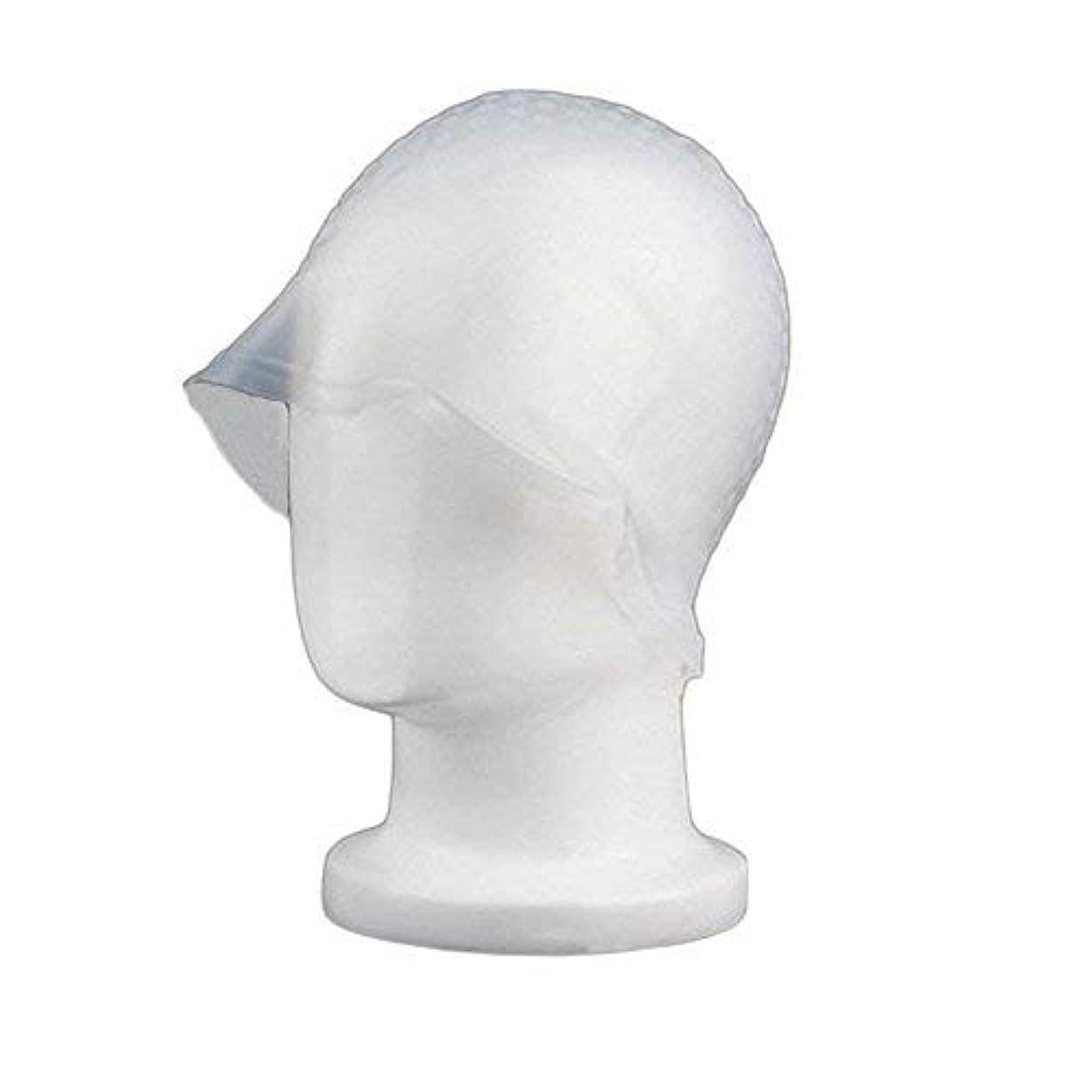 配置不安定な検閲chaselpod 洗って使える ヘアカラー メッシュ 染め用 用 シリコン ヘア キャップキャップ