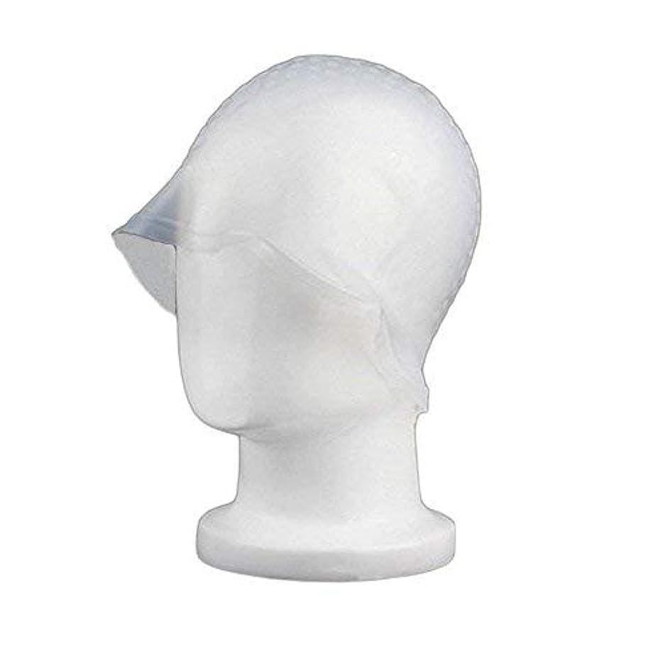不合格フロー概念chaselpod 洗って使える ヘアカラー メッシュ 染め用 用 シリコン ヘア キャップキャップ