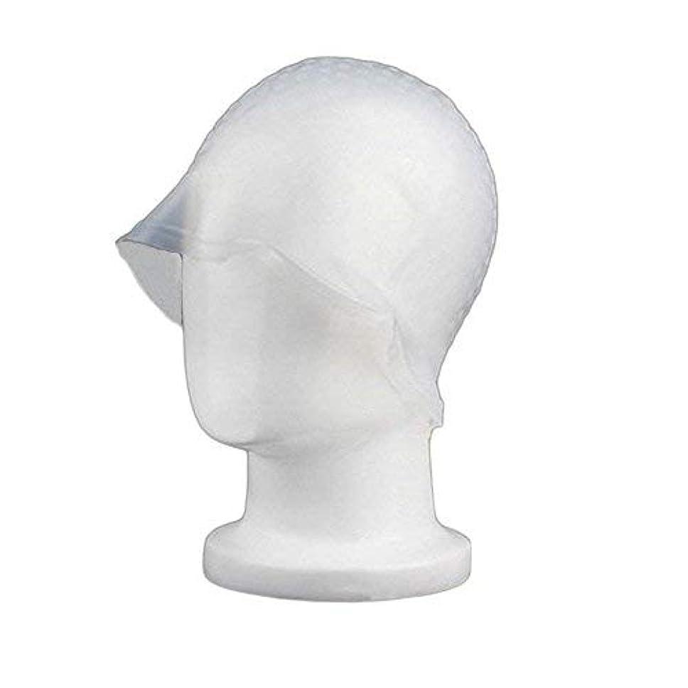 chaselpod 洗って使える ヘアカラー メッシュ 染め用 用 シリコン ヘア キャップキャップ