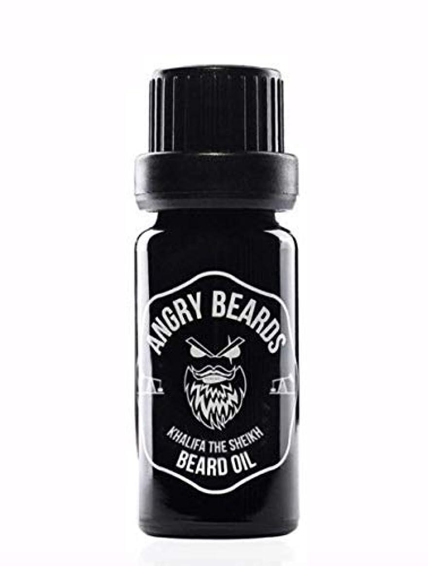 気まぐれな機械的にクッションLIMITED Khalifa the Sheikh Beard Oil by Angry Beards/LIMITED Khalifa the Sheikhビアードオイルby Angry Beards 10ml Made...