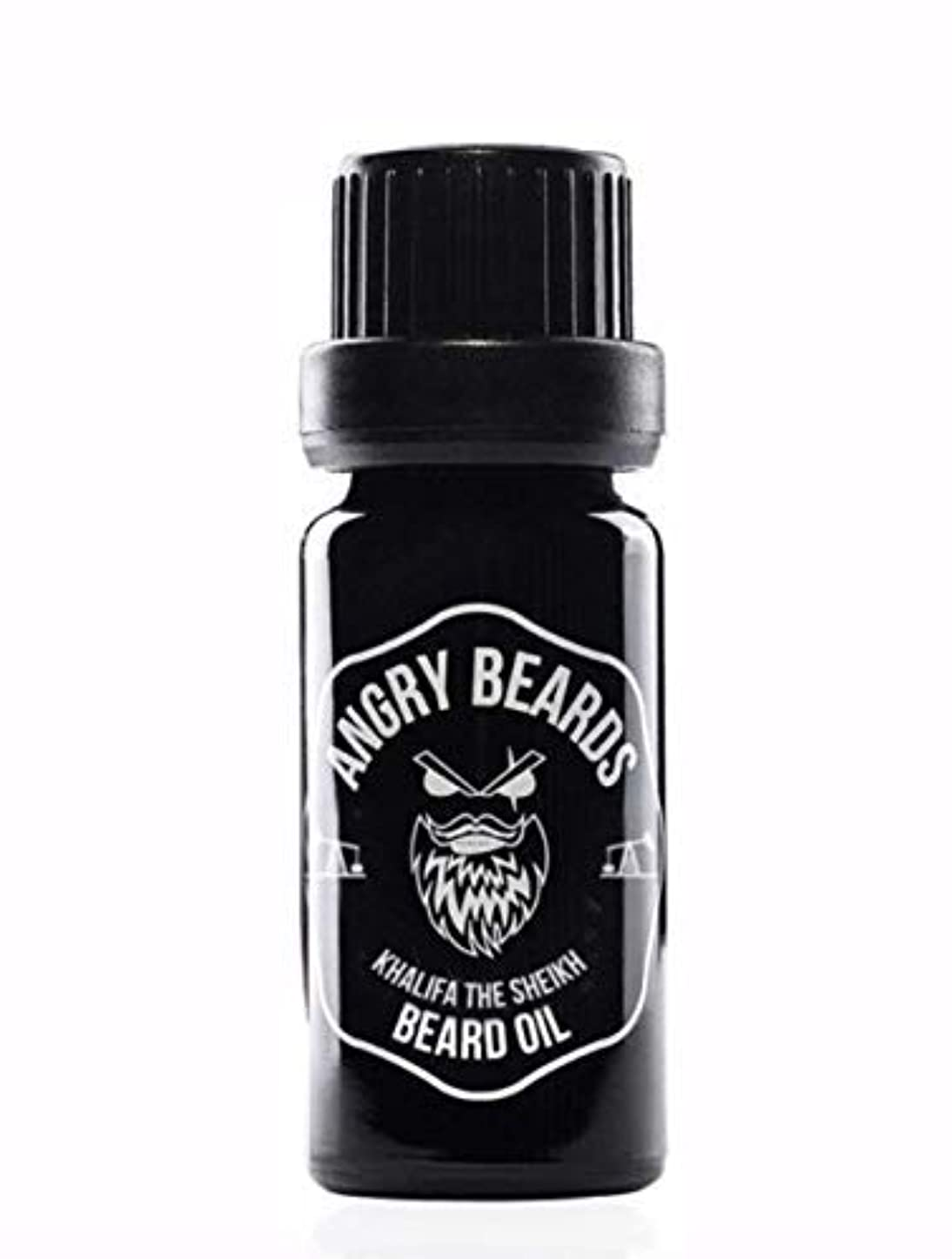 尊厳生命体公園LIMITED Khalifa the Sheikh Beard Oil by Angry Beards/LIMITED Khalifa the Sheikhビアードオイルby Angry Beards 10ml Made...