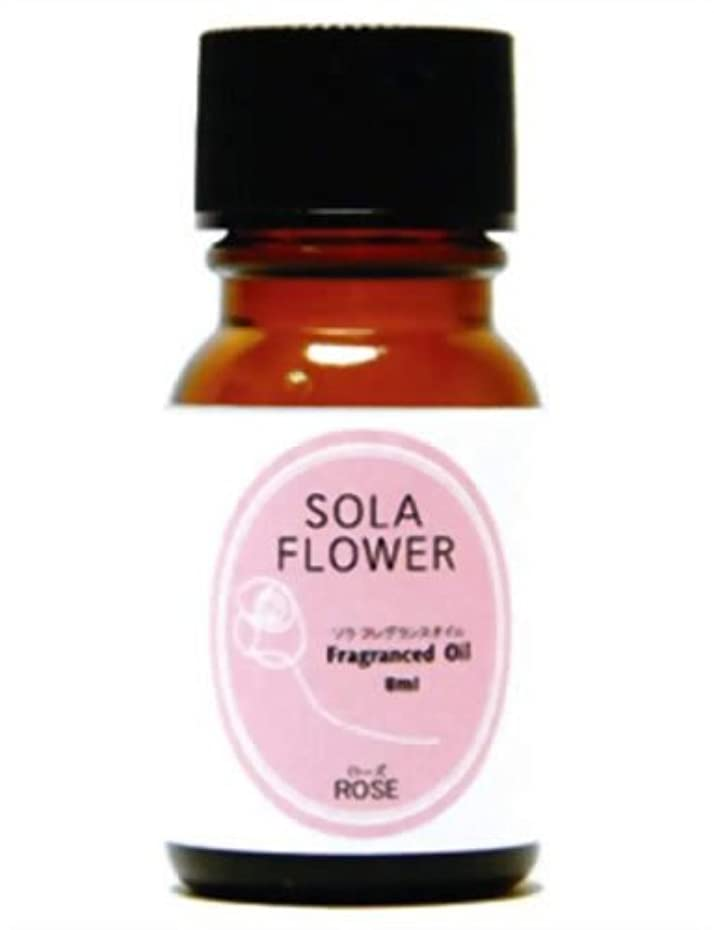 毎日十分な延期するソラ フレグランスオイル ローズ 8ml
