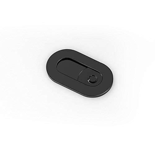 Webカメラcover-メタルスライダWebカメラカバー–ノートパソコンMacbook Pro iMac Mac Mini PCコンピュータタブレットスマートフォンスマートTV WITHスライダ、プライバシー保護とセキュリティのagainst Cam Hacks ブラック