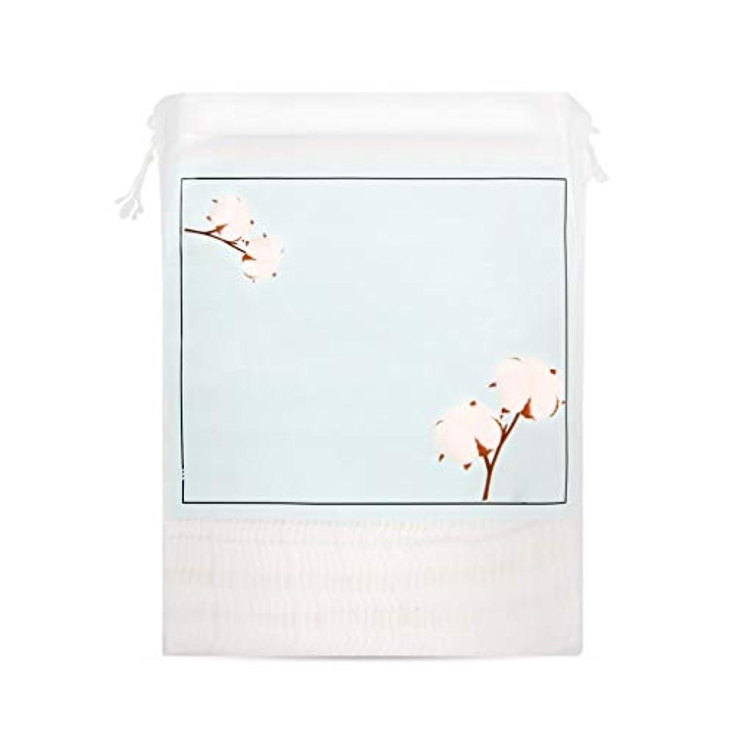乳剤世界の窓テストクレンジングシート クレンジングコットンリムーバーフェイスクレンジングウェット厚手の両面コットンパッド200枚 (Color : Blue)