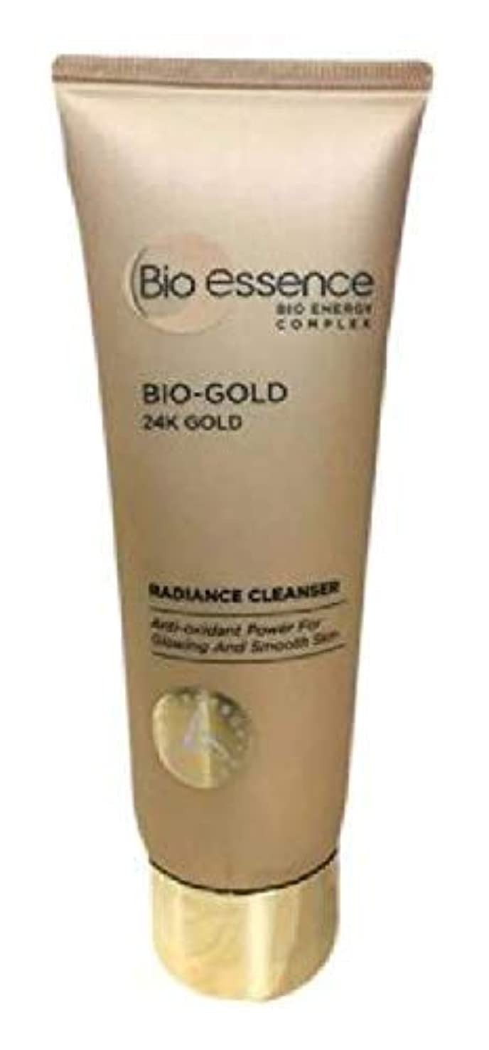 Bio-Essence バイオゴールド輝きクレンザー100ミリリットル豊富な、細かな泡が肌に最も優しいクレンジングを与えます