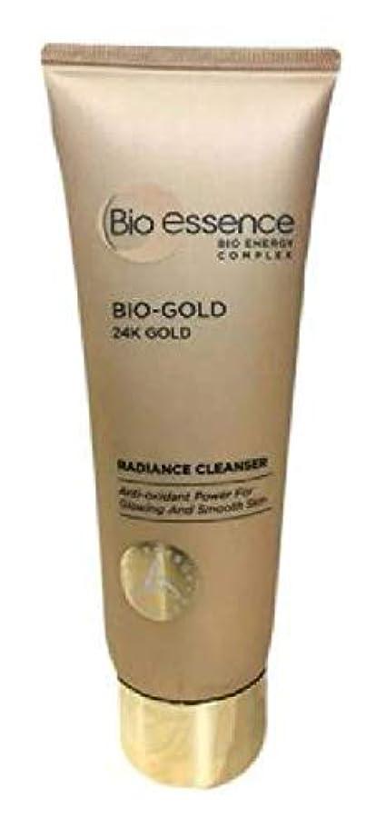 奇跡的な翻訳者凍ったBio-Essence バイオゴールド輝きクレンザー100ミリリットル豊富な、細かな泡が肌に最も優しいクレンジングを与えます