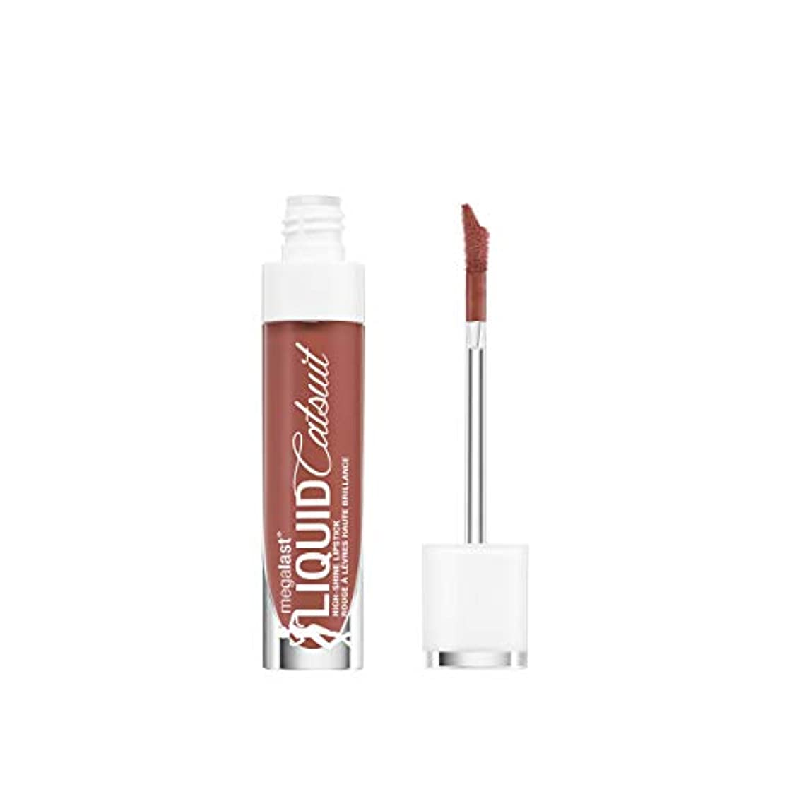 同等の機械モットーWET N WILD MegaLast Liquid Catsuit High-Shine Lipstick - Cedar Later (並行輸入品)