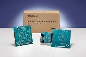 ルネサスエレクトロニクス(RENESAS) Solution Starter Kit RX130搭載静電容量タッチ評価システム RTK0EG0003S02001BJ