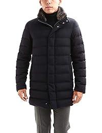 HERNO (ヘルノ) PI0439U Silk Cashmere Down coat (シルク カシミア ダウン コート) NAVY (ネイビー・9200)