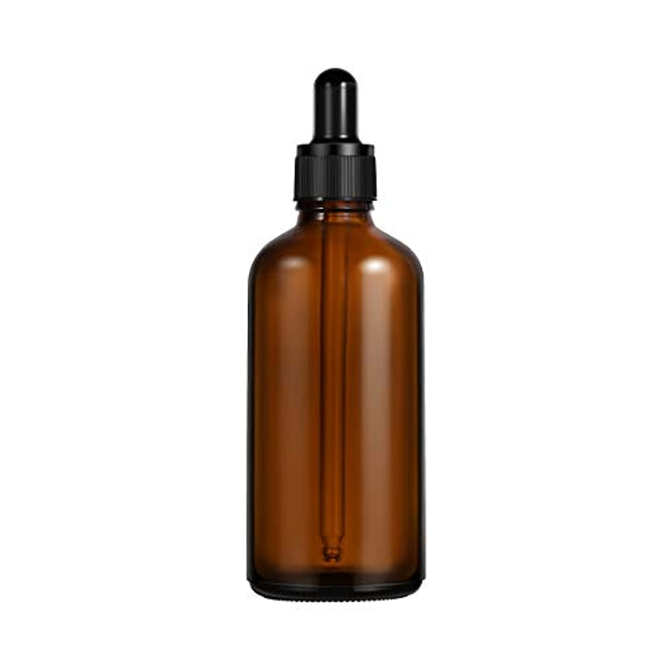 頼む球体樫の木Frcolor 遮光瓶 スポイト遮光瓶 スポイト付き アロマボトル 100ml 保存容器 エッセンシャルオイル 香水 保存用 詰替え ガラス 茶色