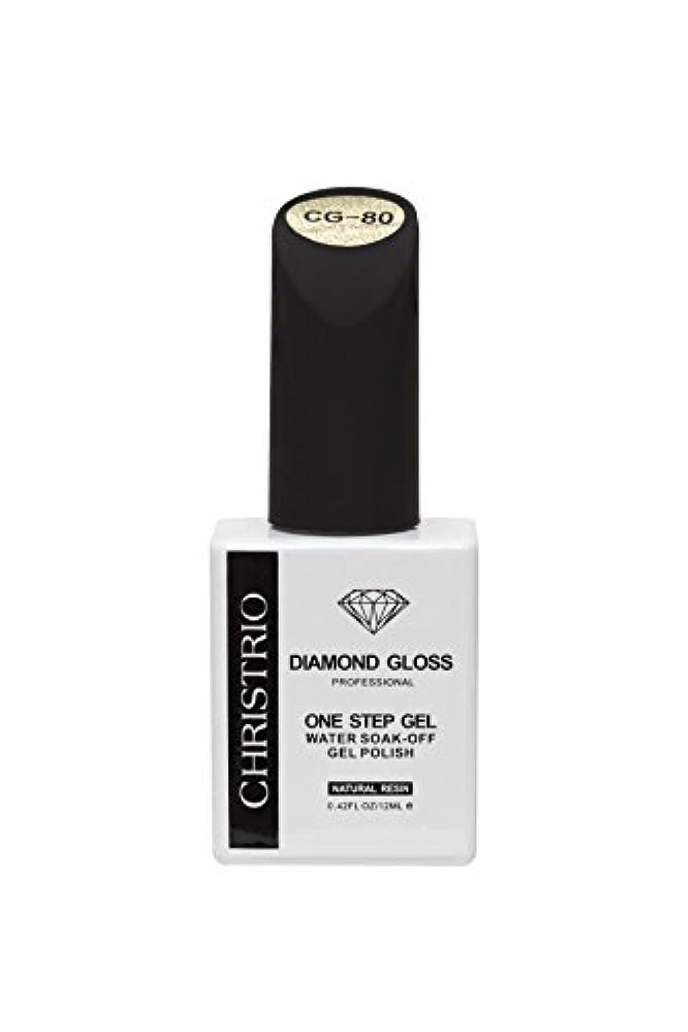 克服するはしご病なCHRISTRIO DIAMOND GLOSS 12ml CG-80