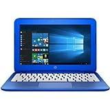 HP Stream 11-r016TU Windows10 64bit Celeron 2GB 32GB 光学ドライブ非搭載 iPass 無線LAN IEEE802.11ac/a/b/g/n Bluetooth USB3.0 HDMI webカメラ microSDカードスロット 11.6型液晶搭載ノートパソコン バッテリー長持ち最大約10.5時間 Microsoft OneDrive100GB(2年間使用可)