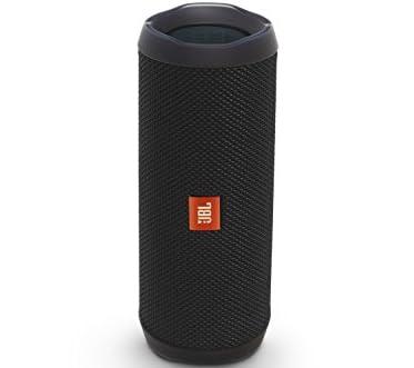 JBL FLIP4 Bluetoothスピーカー IPX7防水機能 パッシブラジエーター搭載 ポータブル/ワイヤレス対応 ブラック【国内正規品】 JBLFLIP4BLK
