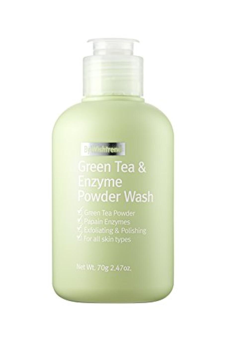 コーラスなるところでBY WISHTREND(バイ?ウィッシュトレンド) グリーンティー&エンザイム?パウダーウォッシュ, Green Tea & enzyme Powder Wash 70g [並行輸入品]