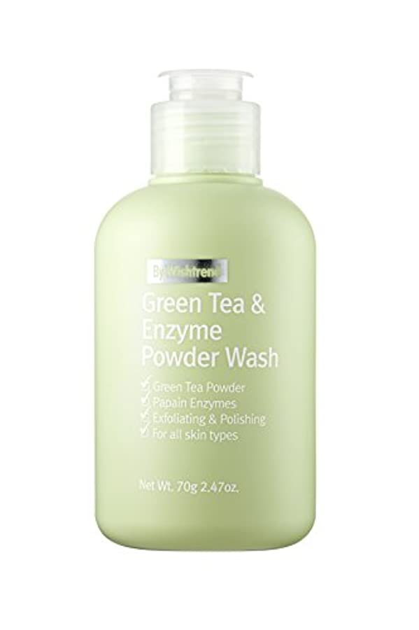 接続チューブめまいがBY WISHTREND(バイ?ウィッシュトレンド) グリーンティー&エンザイム?パウダーウォッシュ, Green Tea & enzyme Powder Wash 70g [並行輸入品]
