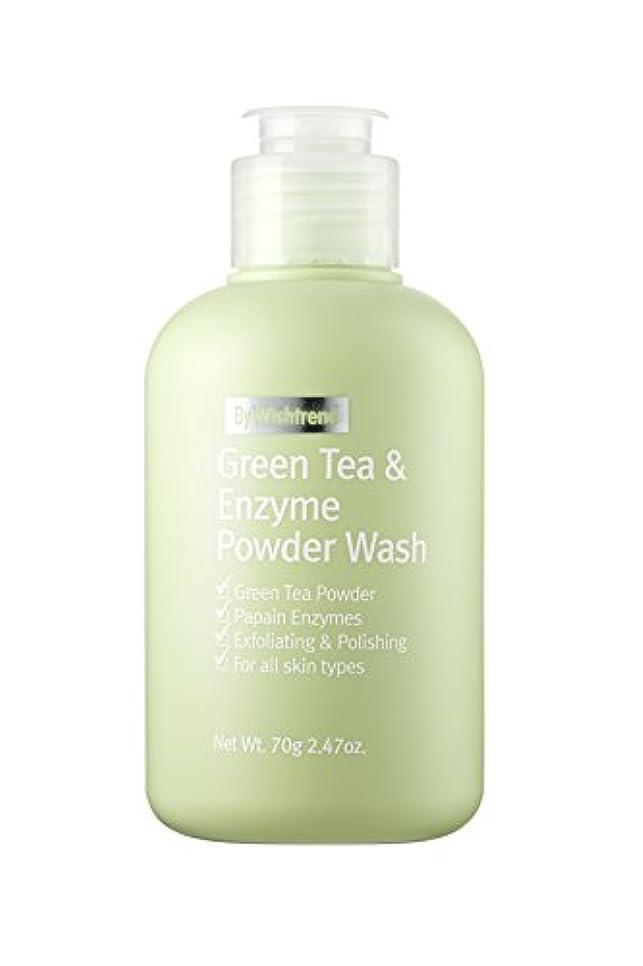 情緒的スペイン語呼び出すBY WISHTREND(バイ?ウィッシュトレンド) グリーンティー&エンザイム?パウダーウォッシュ, Green Tea & enzyme Powder Wash 70g [並行輸入品]
