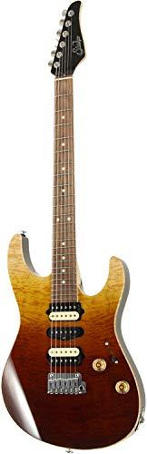 "Suhr Guitars Limited Edition ""Modern Plus Curly"" Desert Gradient/P SN.JS6H3X"