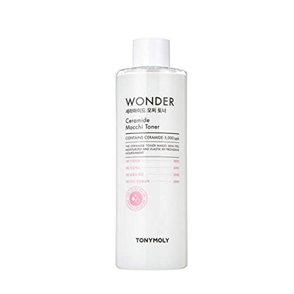 トニーモリーワンダーセラミドMocchiトナー500ml韓国コスメ、Tonymoly Wonder Ceramide Mocchi Toner 500ml Korean Cosmetics [並行輸入品]