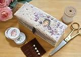ボンクラージュ 布製品 リボン刺繍セット スミレ
