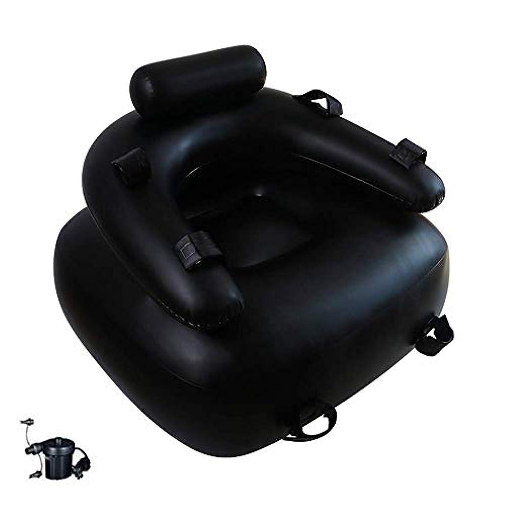 ハードリング省酸化物ボンデージインフレータブルソファーヨガリクライニングチェアレジャーチェアソファベッドポータブル水泳用クッションセックス枕家具