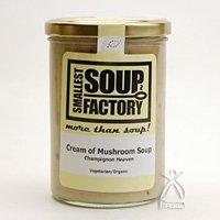 【SMALLEST SOUP FACTORY】やわらかマッシュルームをコトコト煮込んで仕上げた 濃厚...