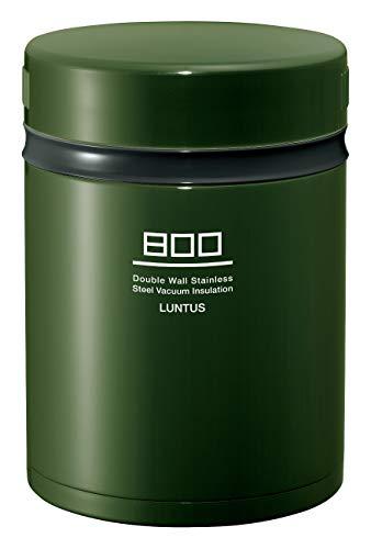アスベル 保温ランチジャー グリーン 800ml ランタスBE ステンレス保温ランチボックス HLB-B800