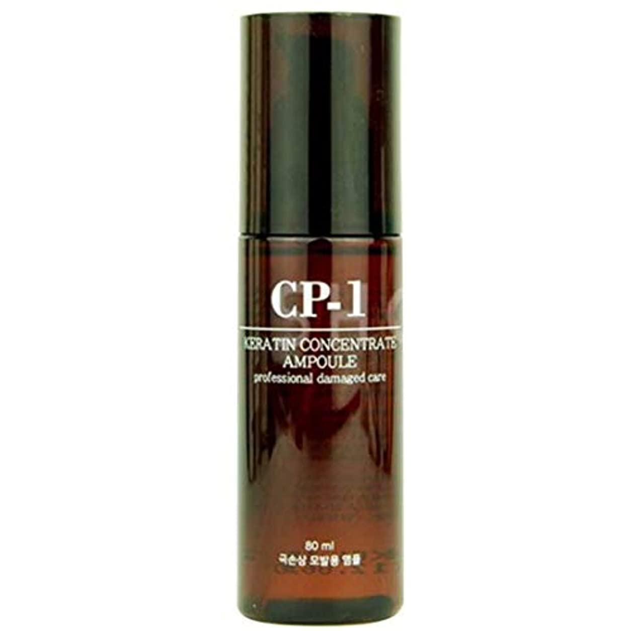 生き残りドア旋回Esthetic House CP-1 ヘアアンプル Keratin Concentrate Ampoule 80ml プロ傷んだヘアケア Professional Damaged Hair Care, 韩国正品