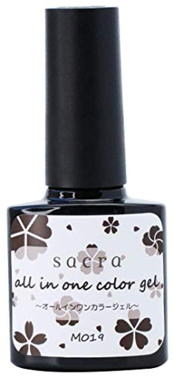 かなりの溝非常に怒っていますsacra(サクラ) sacraオールインワンカラージェル M019 ジェルネイル 6ml