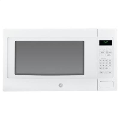 GE peb7226dfwwプロファイル2.2 CU。FT。ホワイトカウンタートップ電子レンジby General Electric
