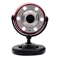 Quick 1.3MP WebCam with Night Vision (Red) [並行輸入品]