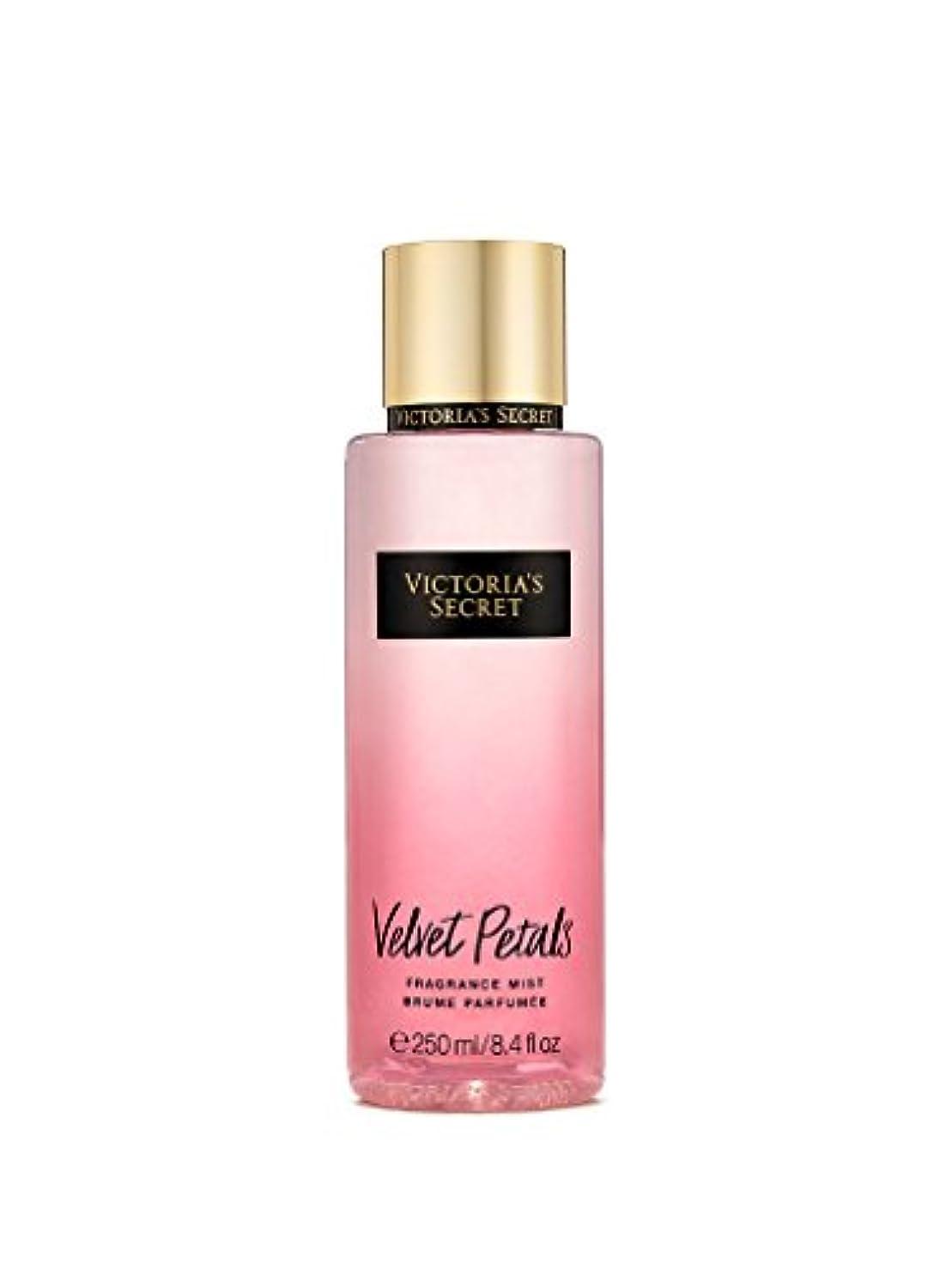 タブレット農場揺れる【並行輸入品】Victoria's Secret Velvet Petals Fragrance Mist ヴィクトリアズシークレットベルベットぺタルズミスト250 ml