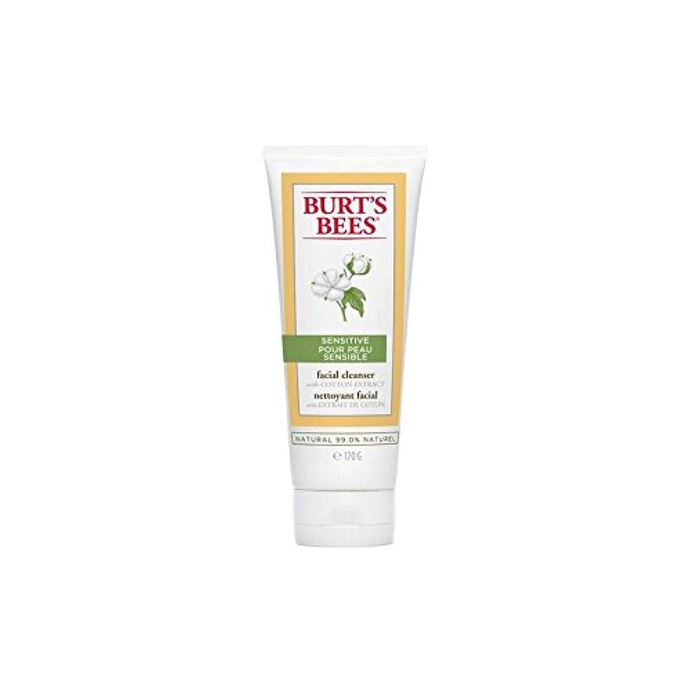 巡礼者りんごシチリアBurt's Bees Sensitive Facial Cleanser 170G - バーツビー敏感な洗顔料の170グラム [並行輸入品]