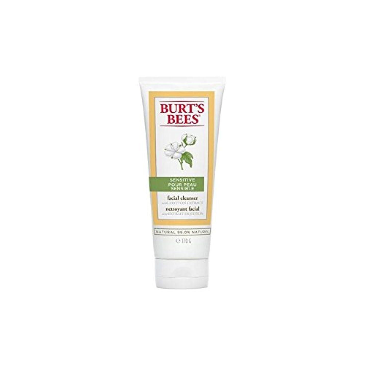 暖かさ発音専門Burt's Bees Sensitive Facial Cleanser 170G - バーツビー敏感な洗顔料の170グラム [並行輸入品]