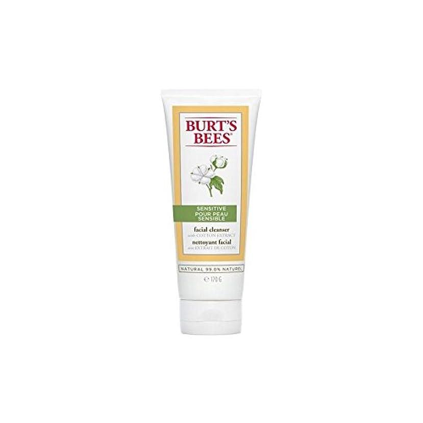 顕著してはいけないノミネートバーツビー敏感な洗顔料の170グラム x4 - Burt's Bees Sensitive Facial Cleanser 170G (Pack of 4) [並行輸入品]
