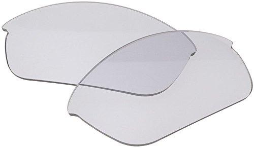 ZEROブランド オークリー FLAK JACKET用交換レンズ CLEAR GREY 調光レンズ