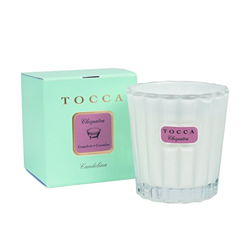 トッカ(TOCCA) キャンデリーナ クレオパトラ 88g (キャンドル ろうそく 絶世の美女を想わせるグレープフル...