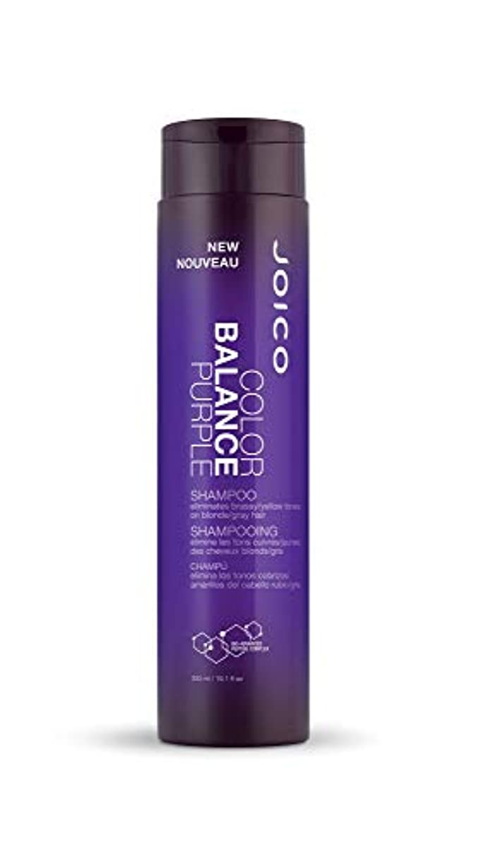 汚い公演性別ジョイコ Color Balance Purple Shampoo (Eliminates Brassy/Yellow Tones on Blonde/Gray Hair) 300ml/10.1oz並行輸入品