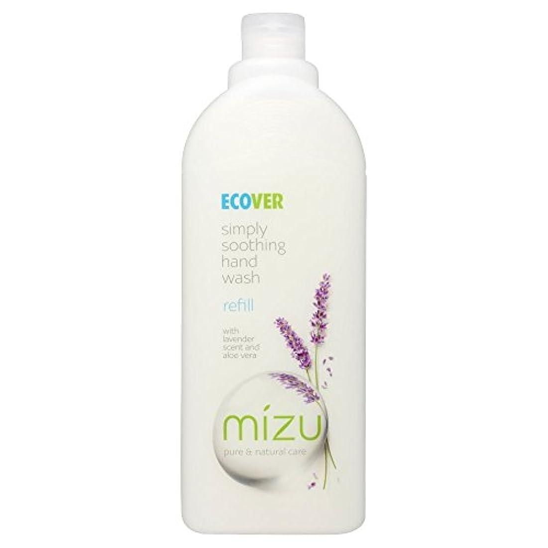 縞模様のマイナス飲料Ecover Liquid Hand Soap Lavender & Aloe Vera Refill (1L) by Ecover