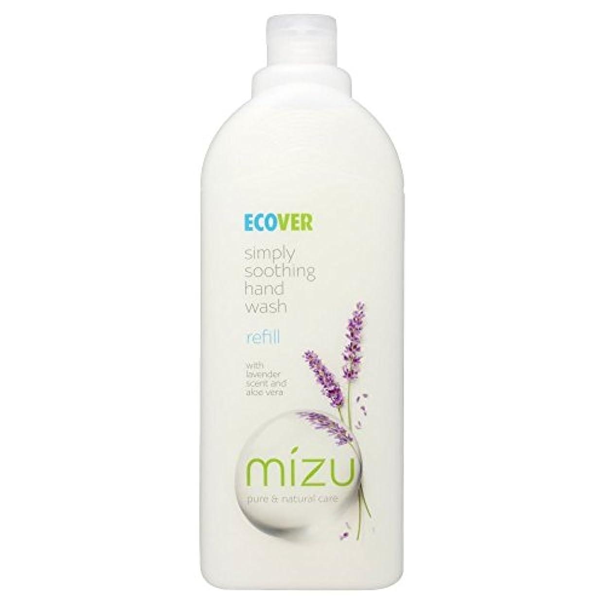 クランプ容赦ない対Ecover Liquid Hand Soap Lavender & Aloe Vera Refill (1L) by Ecover