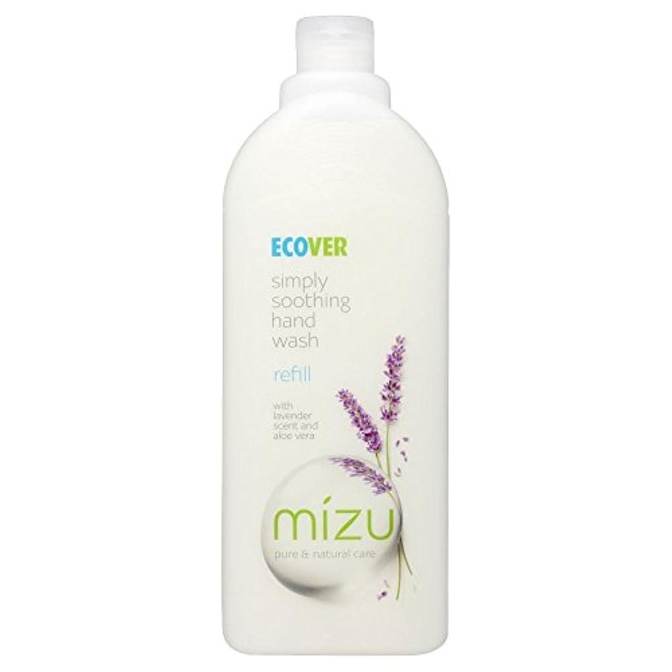 こねるスペース石灰岩Ecover Liquid Hand Soap Lavender & Aloe Vera Refill (1L) by Ecover