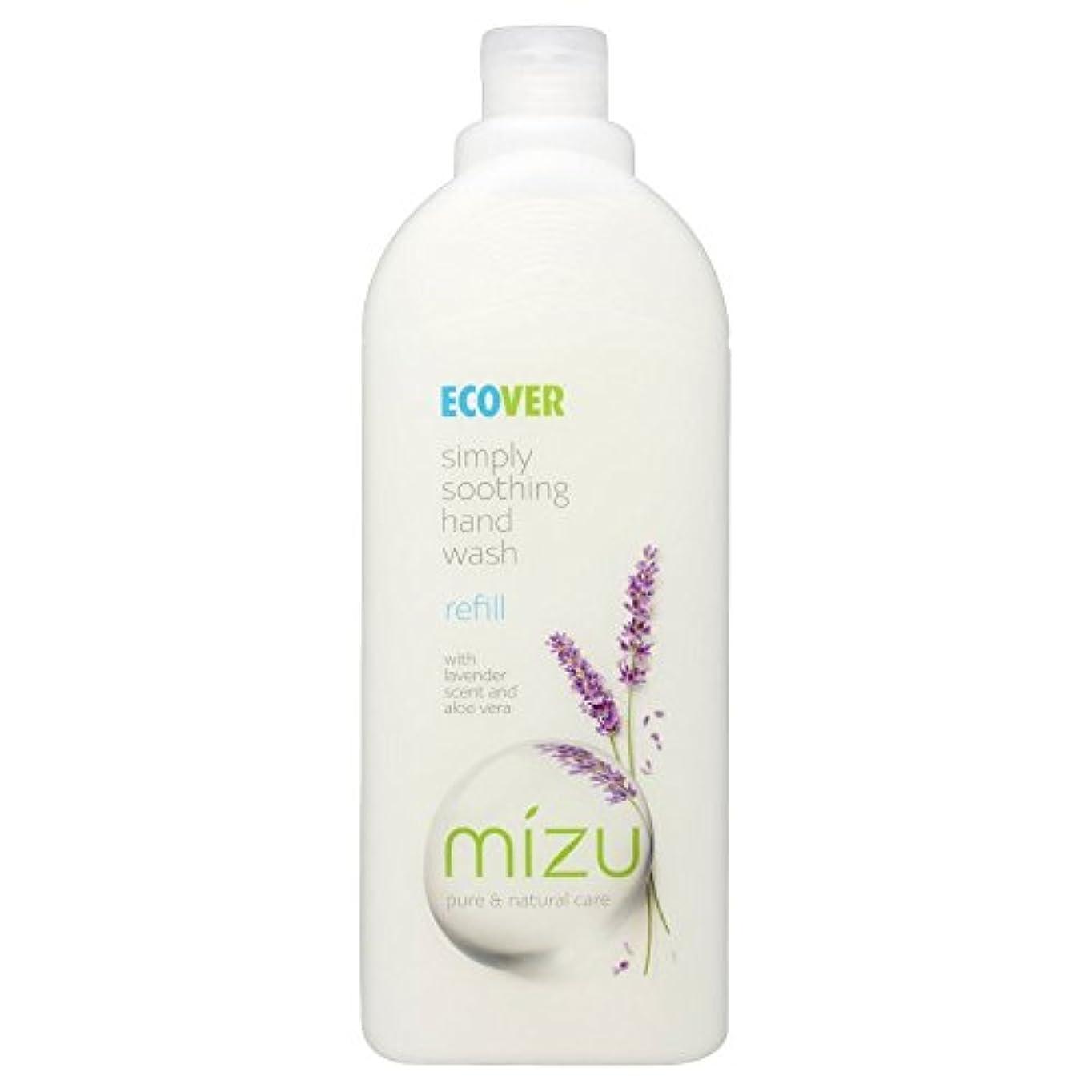 へこみ疑い者兄弟愛Ecover Liquid Hand Soap Lavender & Aloe Vera Refill (1L) エコベール液体ハンドソープラベンダーとアロエベラリフィル??( 1リットル) [並行輸入品]