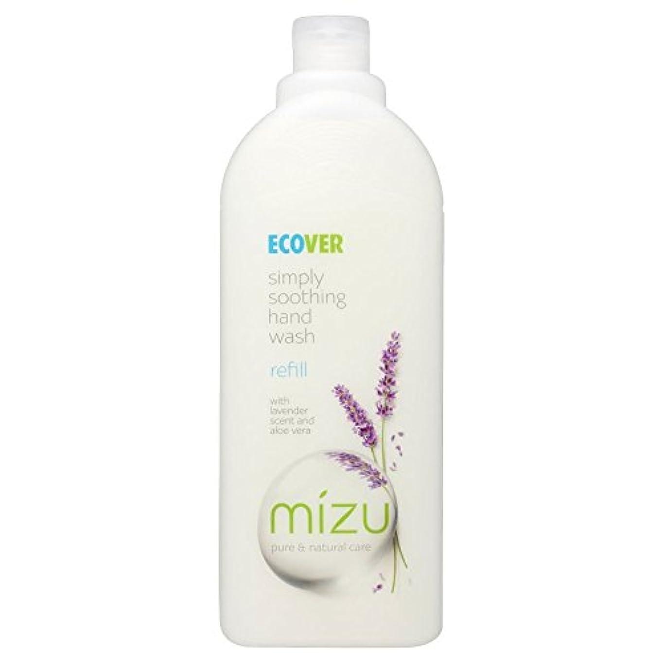 序文バレーボール葉Ecover Liquid Hand Soap Lavender & Aloe Vera Refill (1L) エコベール液体ハンドソープラベンダーとアロエベラリフィル??( 1リットル) [並行輸入品]