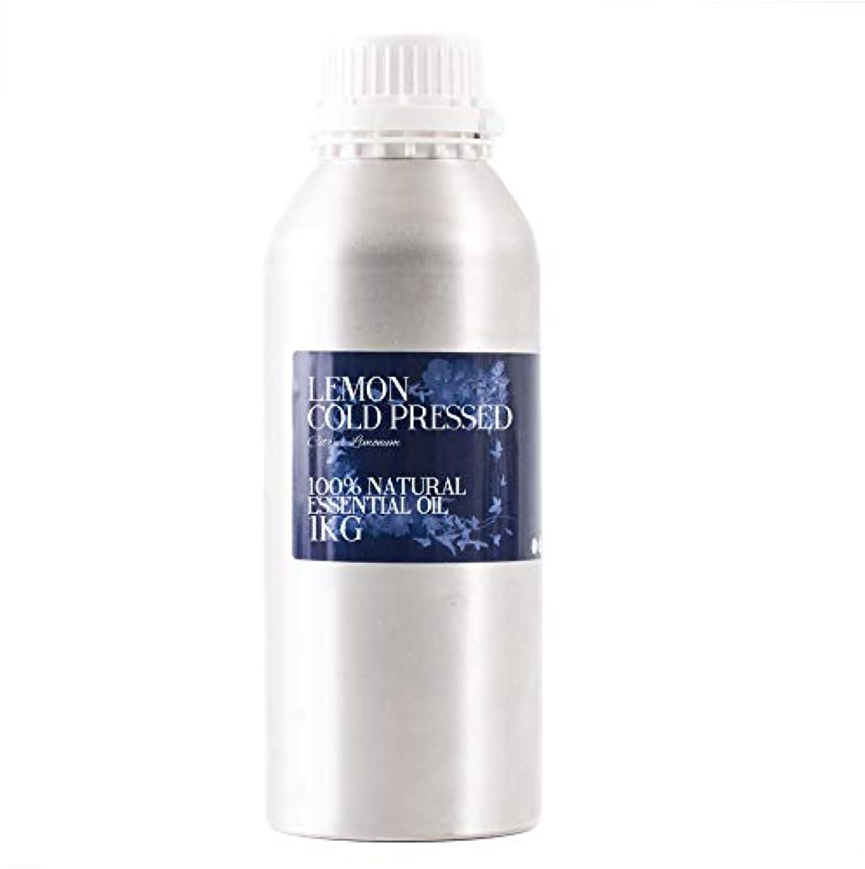 病モニター虎Mystic Moments | Lemon Cold Pressed Essential Oil - 1Kg - 100% Natural