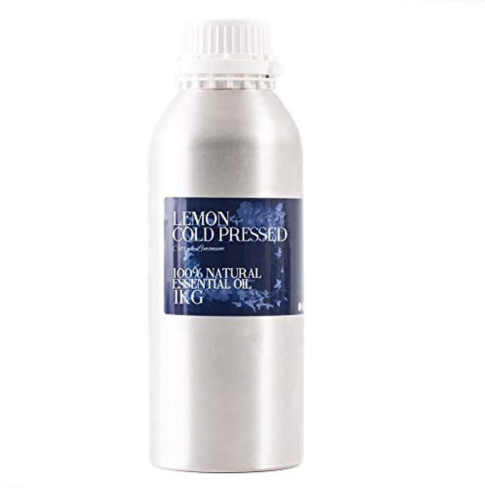 ビクターあごひげ医療過誤Mystic Moments | Lemon Cold Pressed Essential Oil - 1Kg - 100% Natural