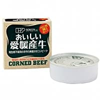 創健社 愛媛産牛 無塩せきコンビーフ 80g×2個         JAN:4901735022120